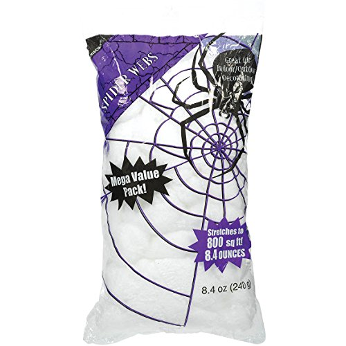 Amscan Big Pack Stretchable Polyester Spider Web