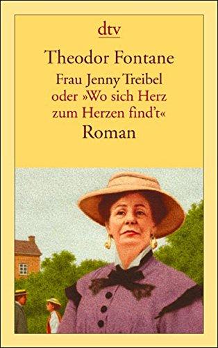 Buchseite und Rezensionen zu 'Frau Jenny Treibel' von Theodor Fontane