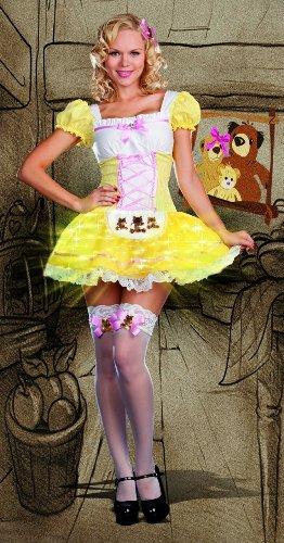 Glowing Goldilocks Costume - X-Large - Dress Size 14-16