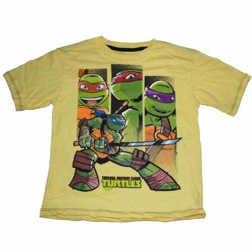 Teenage Mutant Ninja Turtles Color Bands Boys T-shirt (7) (Yellow Ninja Turtle Shirt compare prices)