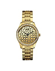 Guess Croco Glam W0236L2 Analogue Watch - For Women