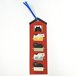 concombre cat house Post-it bookmark stickers sticky notes
