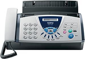 Brother FAX T104 Télécopieur / photocopieuse Noir et blanc transfert thermique 9.6 Kbits/