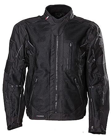 Modeka mesh 2 evo blouson de moto taille :  4-xL veste de moto en tissu couleur :  noir