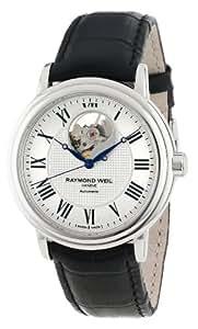 Raymond Weil Men's 2827-STC-00659 Maestro Silver Dial Watch