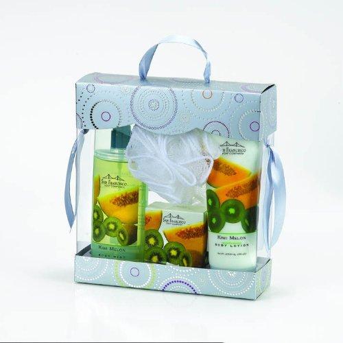 san-francisco-soap-co-body-lotion-body-mist-bar-soap-pouf-bath-and-body-gift-boxed-4-piece-set-kiwi-