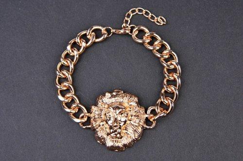 Topea Fashion Punk Lion Bracelet