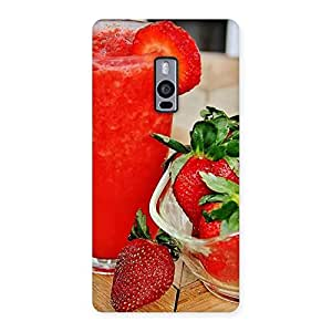 Straberry Juice Back Case Cover for OnePlus Two