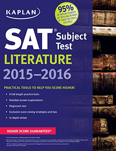 Kaplan SAT Subject Test Literature 2015-2016 (Kaplan Test Prep)