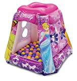 Disney Princess Glitter N Glam Playland with 20 Balls