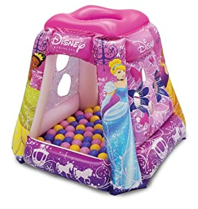 Disney Princess Glitter 'N Glam Playland with 20 Balls
