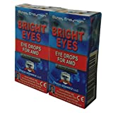 Carnosine Eye Drops 2-Pack (4 x 5ml Bottles) Ethos Bright Eyes™ NAC Eye Drops (Safe for Macular Degeneration Sufferers) - As Seen on UK National TV with Amazing Results! NAC n acetyl carnosine eye drops...