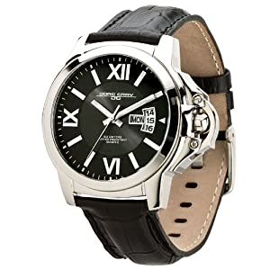 Jorg Gray JG1850-12 Men's Black Dial Watch