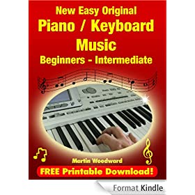 New Easy Original  Piano / Keyboard  Music - Beginners - Intermediate