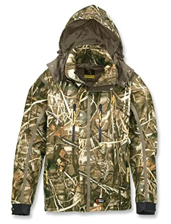 Browning Dirty Bird Vari-Tech Camouflage Hunting Jacket (Advantage Max-4) (Medium) by Browning
