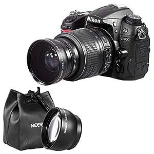 Amazon.com : Neewer 52mm Camera Lens Kit: 2x Magnification