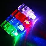 Dizaul Super Bright Finger Flashlights - LED Finger Lamps - Rave Finger Lights, Pack of 40
