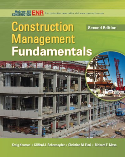 Construction Management Fundamentals (McGraw-Hill Series...
