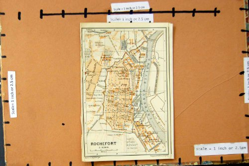 fiume-1907-di-pianificazione-rochefort-francia-della-via-della-mappa-la-charente