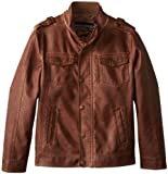 Urban Republic Big Boys' Garment Dyed Faux Leather 5 Pocket Jacket by NYC Leather Factory Outlet