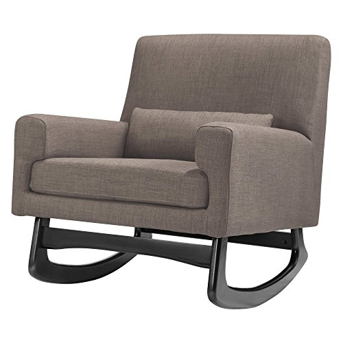 Nursery Works Sleepytime Rocker, Pebble With Dark Legs
