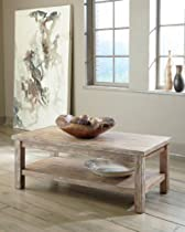 Hot Sale Rustic Accents Rectangular Cocktail Table