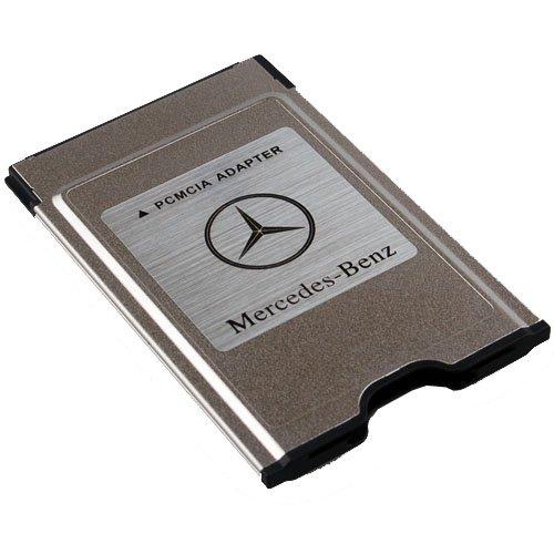 New original mercedes benz pcmcia to sd pc card adapter for Pcmcia card for mercedes benz