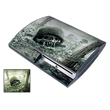 Resistance: Fall of man PS3 Playstation 3 Body Protector Skin Decal Sticker, Item No.PS30853-02