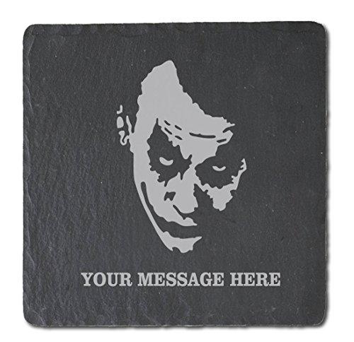 Joker Occasions Direct-Set di 4 sottobicchieri in ardesia, confezione da 4