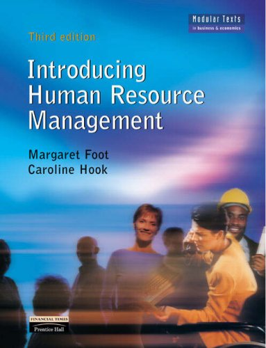 Introducing Human Resource Management: AND Human Resource Management Simulation-Revised