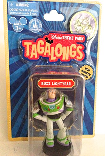 Disney Parks Toy Story Buzz Lightyear Tagalong Plastic Figurine NEW - 1