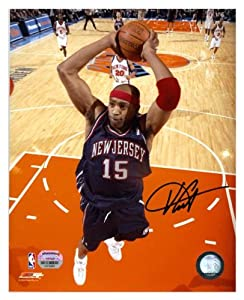 New Jersey Nets Vince Carter Autographed Photo - Mounted Memories Certified by Sports+Memorabilia