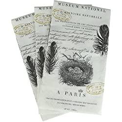 Paperproducts Design French Script Paper Guest Towel, 15-Pack