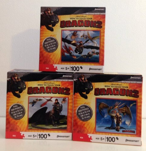 DreamWorks How To Train Your Dragon 2 100 Piece Puzzle Assortment