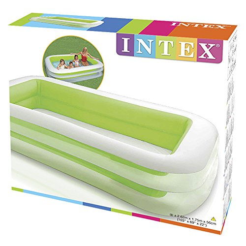 Intex inflatable swim pool kid swimming kiddie family play center summer green ebay Intex inflatable swimming pool