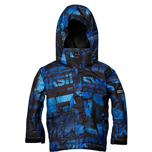 XFEYY9Y Quiksilver Kids Little Mission Jacket, Leftover Blue, 5/S