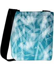 Snoogg Abstract Blue Glasses Designer Womens Carry Around Cross Body Tote Handbag Sling Bags