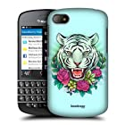 Head Case Tiger Flora And Fauna Hard Back Case Cover For Blackberry Q10