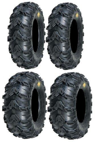 Full set of Sedona Mud Rebel 25x8-12 and 25x11-10 ATV Tires (4)-cheap atv tires