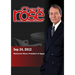 Charlie Rose - Mohamed Morsi, President of Egypt (September 24, 2012)