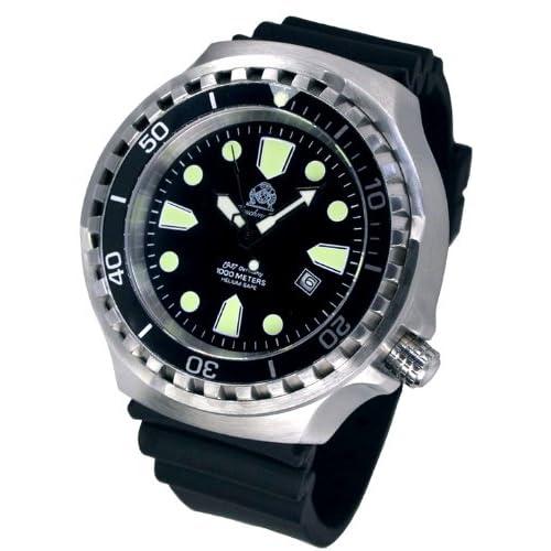 [トーチマイスター1937]Tauchmeister1937 腕時計 ドイツ製大型重厚1000M防水自動巻ダイビング T0267(並行輸入品)