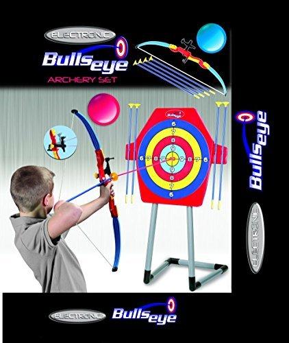 Bulls Eye Electronic Archery Game Set w/ Laser Vision