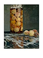 Especial Arte Lienzo Jar of Peaches Multicolor