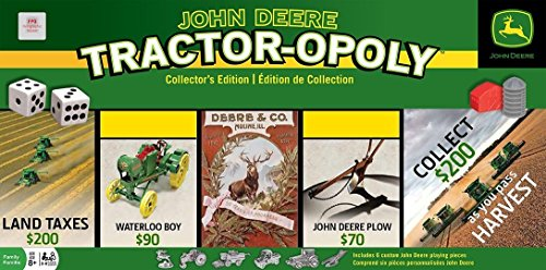 Masterpieces - John Deere - Tractor-Opoly - Collector'S Edition