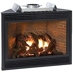 "Luxury 42"" Direct-Vent NG Multi-Function Control Fireplace"