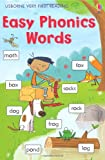 Easy Phonic Words (Usborne Very First Reading)