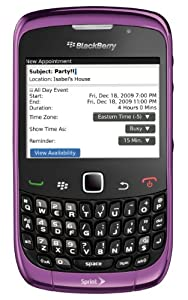 RIM BlackBerry Curve 3G 9330-Sprint-Purple