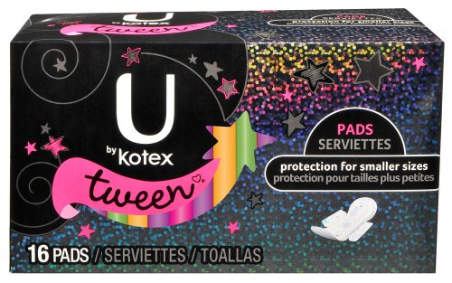 U by Kotex Ultra Thin Wing Tapis Tween 16