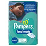 Pampers Bed Mats Compact Bag, 21 Mats...