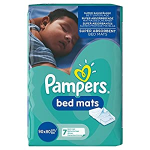 Pampers Bed Mats Compact Bag, 21 Mats - (Pack of 3)